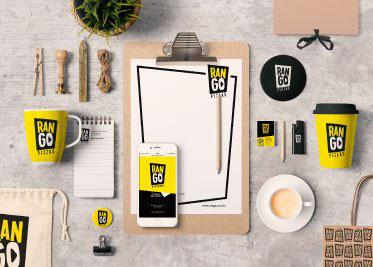Branding | Site e App - RanGO Pizzas